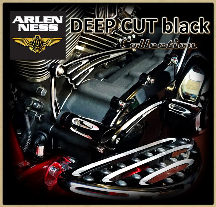 6.04 Коллекция DEEP CUT black фирмы ARLEN NESS