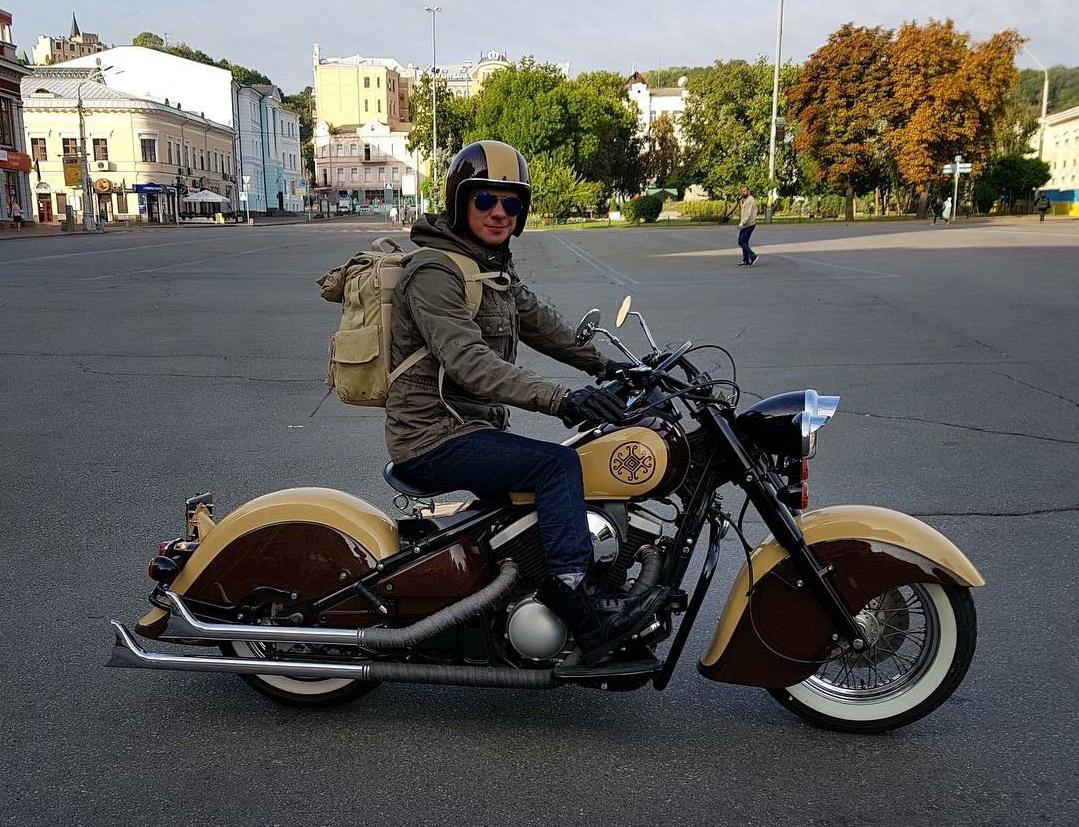 Kawasaki Drifter 400 Дмитрия Комарова
