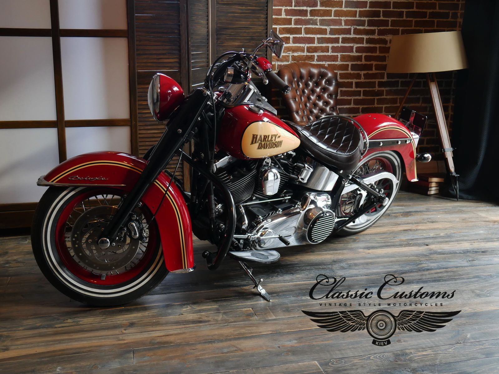 HD Softail Deluxe 2010 Morgan